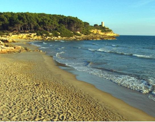 waikiki beach tarragona map