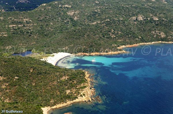 carataggio beach corsica